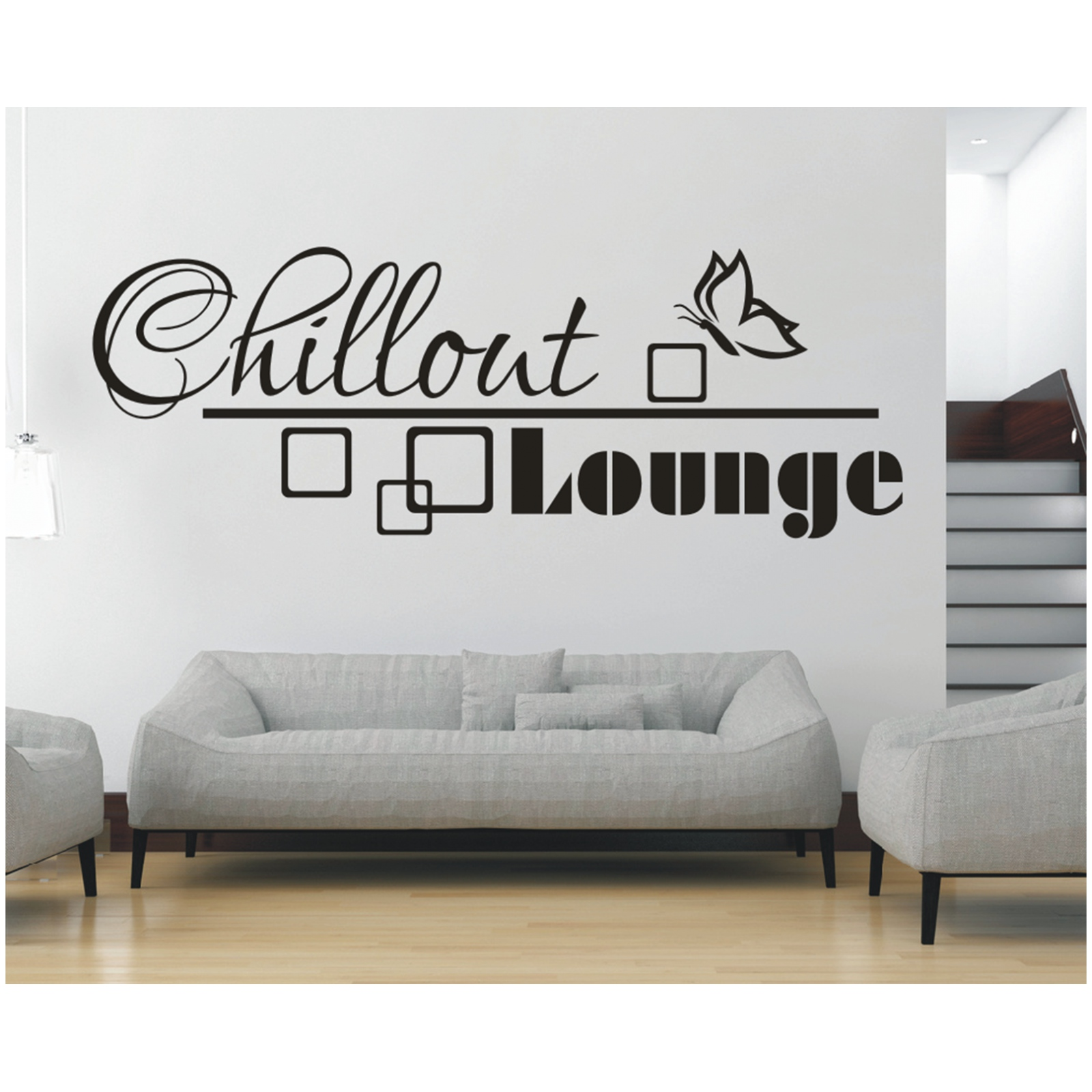 Faszinierend Wandtattos Ideen Von Das Bild Wird Geladen Wandtattoo -spruch-chillout-lounge-retro-sticker-wandaufkleber-wandsticker-