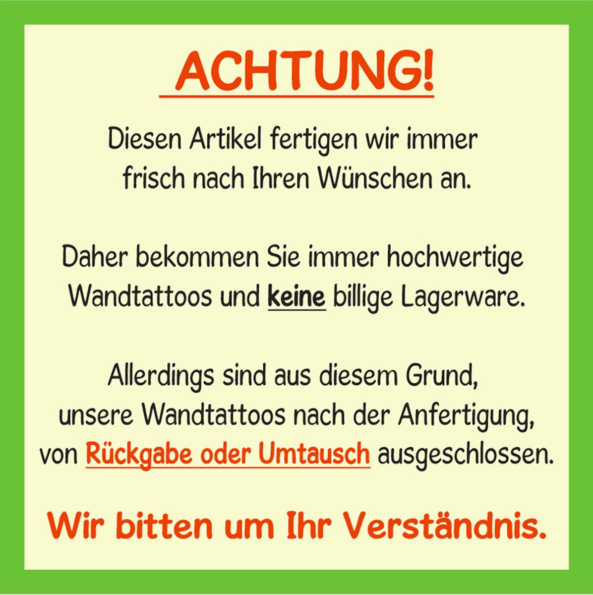 Wandtattoo-Spruch-In-ein-Haus-Glueck-Freude-Wandaufkleber-Aufkleber-Sticker Indexbild 6