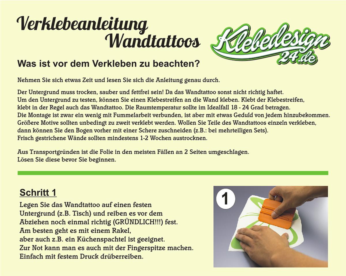 Wandtattoo-Spruch-In-ein-Haus-Glueck-Freude-Wandaufkleber-Aufkleber-Sticker Indexbild 10