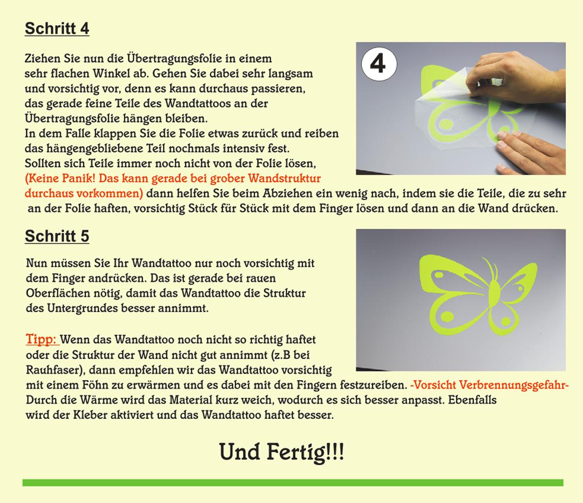 Wandtattoo-Spruch-In-ein-Haus-Glueck-Freude-Wandaufkleber-Aufkleber-Sticker Indexbild 12