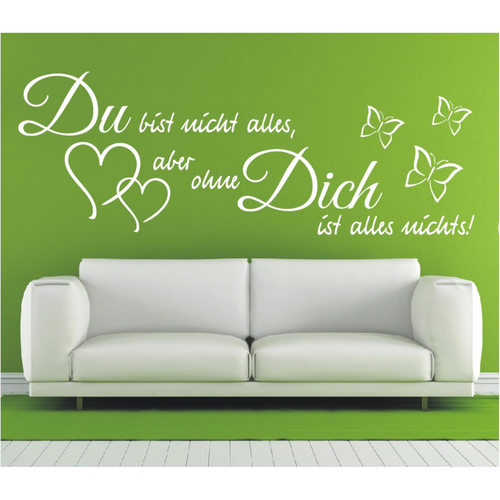 Wandtattoo-Spruch-Du-bist-nicht-alles-aber-Wandsticker-Wandaufkleber-Sticker-4