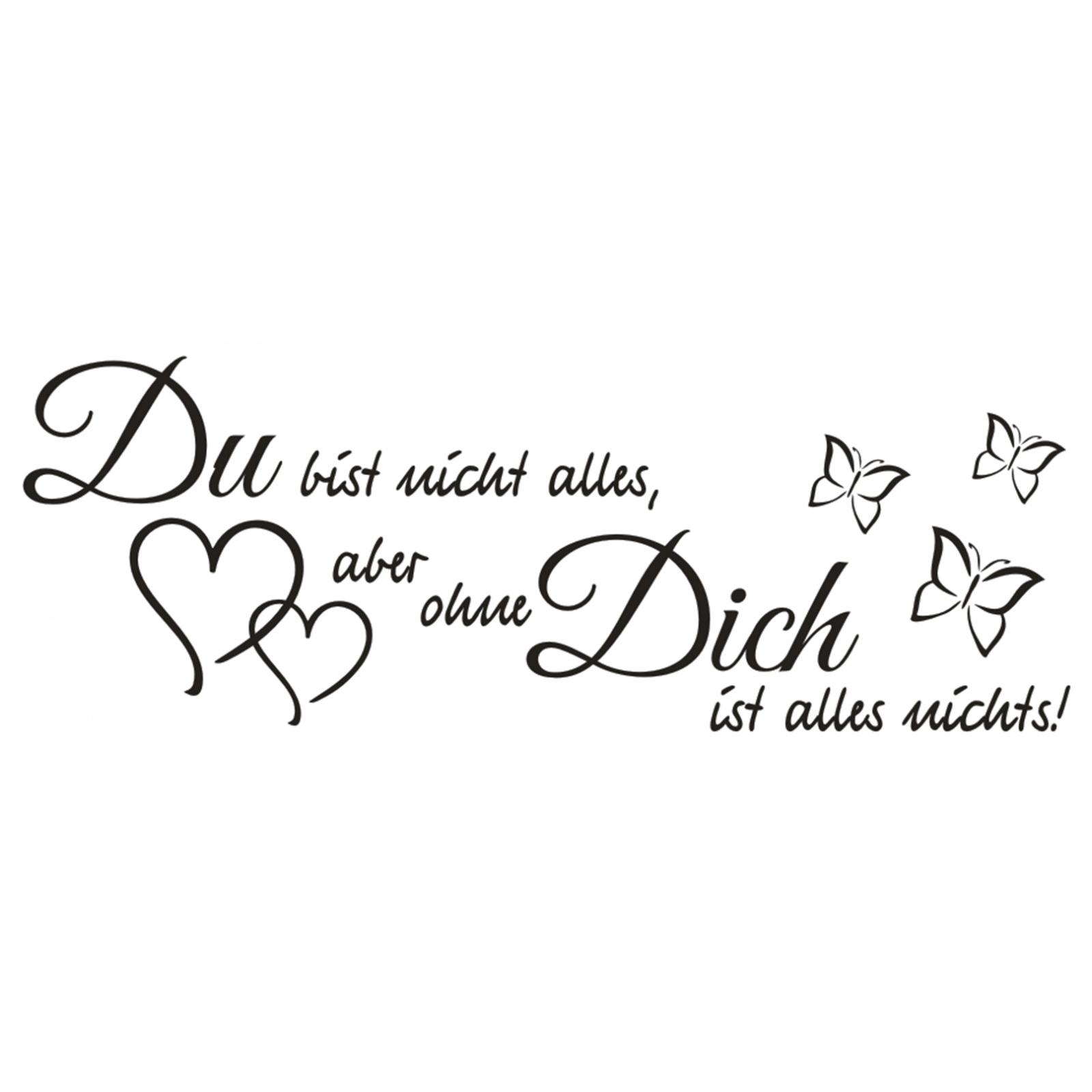 Wandtattoo-Spruch-Du-bist-nicht-alles-aber-Wandsticker-Wandaufkleber-Sticker-4 Indexbild 2