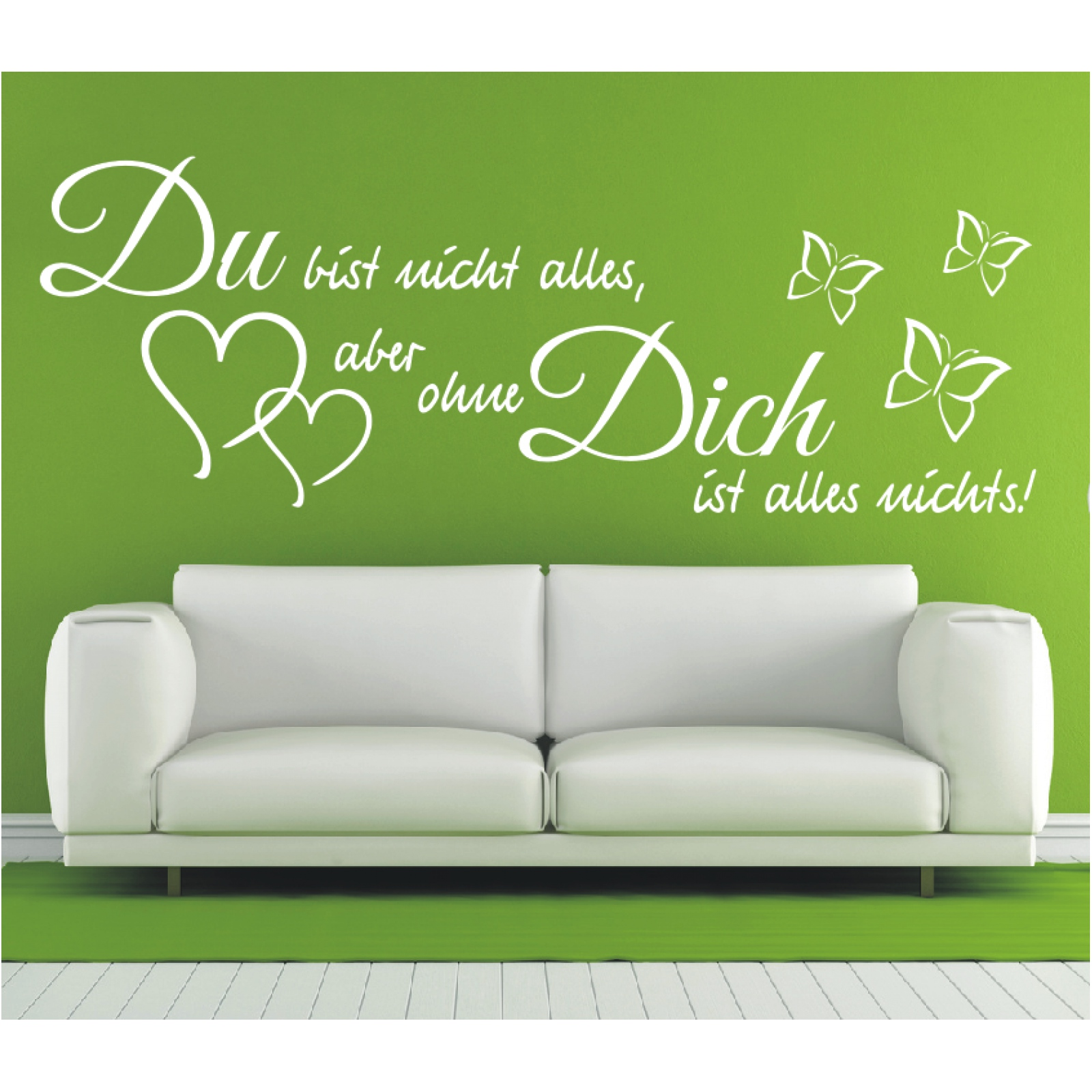 Wandtattoo-Spruch-Du-bist-nicht-alles-aber-Wandsticker-Wandaufkleber-Sticker-4 Indexbild 3