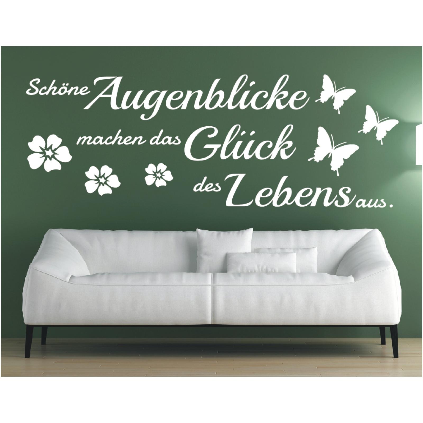Erstaunlich Schöne Wandtattoos Beste Wahl Das Bild Wird Geladen Wandtattoo -spruch-schoene-augenblicke-das-glueck-leben-wandaufkleber-