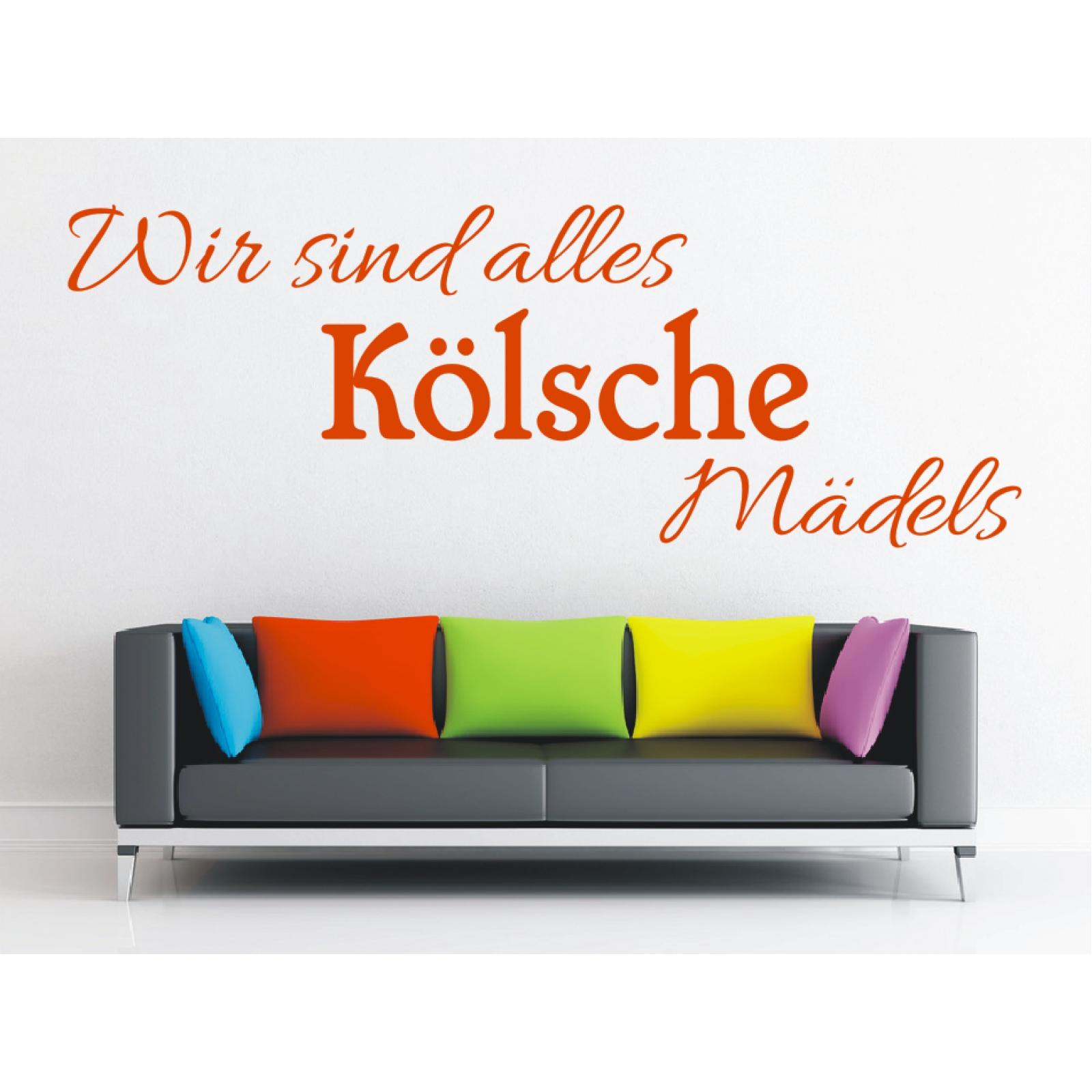 Liebenswert Wandtattoo Köln Foto Von Köln - Wir Sind Alles Kölsche Mädels
