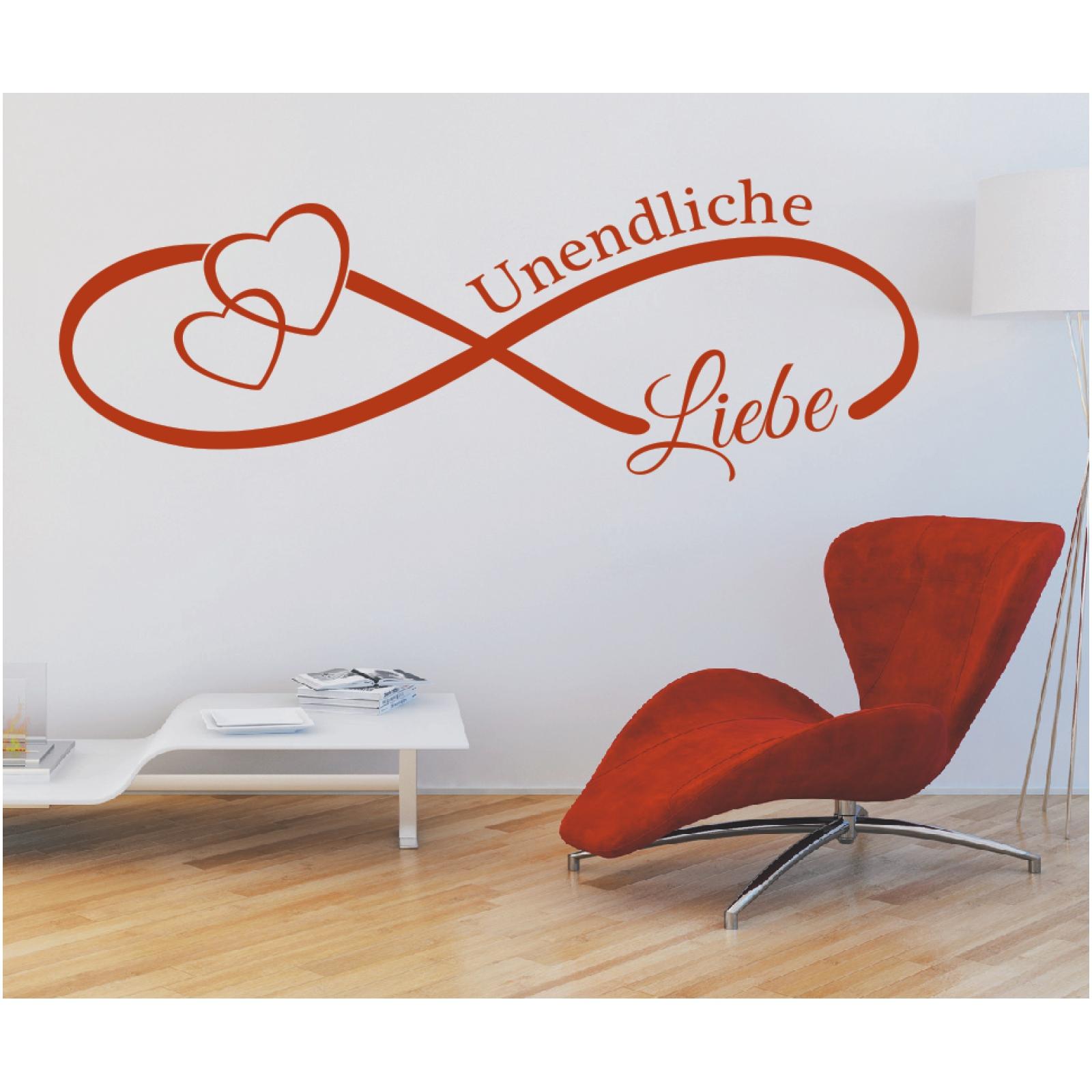Dekoration Wandtattoo Spruch Unendlichzeichen Liebe Love Unendlich Hochzeit Wandaufkleber Mobel Wohnen Elin Pens Ac Id